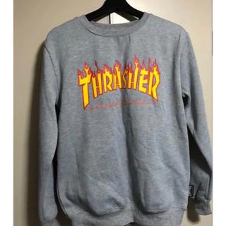 スラッシャー(THRASHER)のTHRASHER トレーナー スウェット グレー(トレーナー/スウェット)