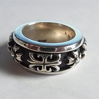 エーアンドジー(A&G)の新品エーアンドジーA&Gシルバー925リング指輪スピナー リング回転18.5号(リング(指輪))