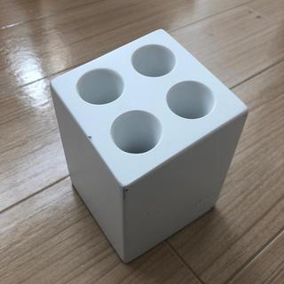 ideaco (イデアコ) 傘立て ミニ キューブ 4本挿し マットホワイト(傘立て)