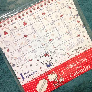ラスト1!キティちゃん 卓上カレンダー(その他)