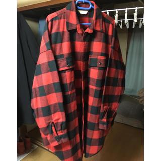 ジエダ(Jieda)の二点セット jieda 18aw チェックシャツ(シャツ)