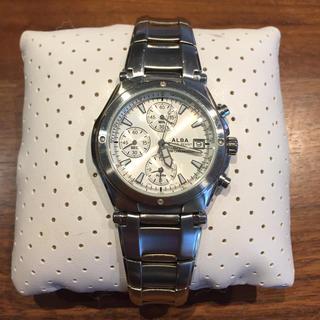 アルバ(ALBA)のSEIKO ALBA メンズ 腕時計 7T62-0AW0(腕時計(アナログ))