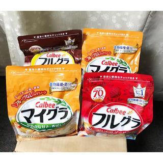 カルビー - フルグラ 2袋➕マイグラ 2袋➕キットカット1袋