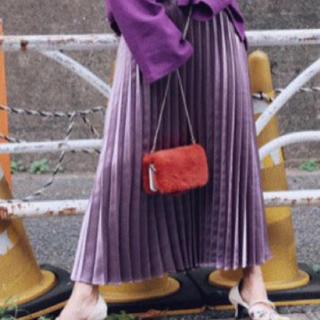 アメリヴィンテージ(Ameri VINTAGE)のプリーツスカート(ロングスカート)