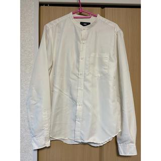 HARE - HARE ノーカラーシャツ