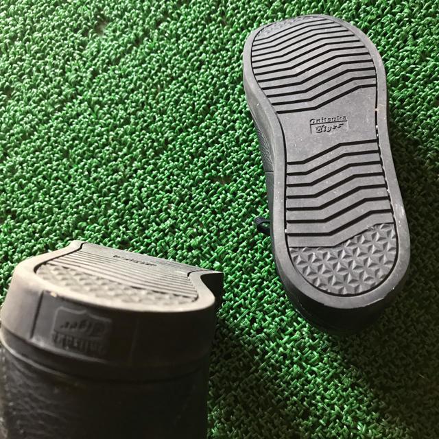 Onitsuka Tiger(オニツカタイガー)のオニツカタイガー スニーカー 黒 メンズの靴/シューズ(スニーカー)の商品写真