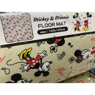 Disney - ミッキーマウス ラグマット