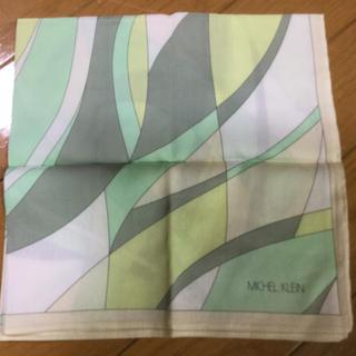 ミッシェルクラン(MICHEL KLEIN)のハンカチスカーフ(バンダナ/スカーフ)