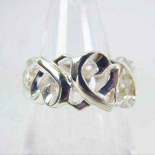 ティファニー(Tiffany & Co.)のティファニー 925 トリプルラビングハート リング 9号[g153-1](リング(指輪))