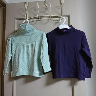 イッカ(ikka)のタートルネック シャツ IKKA  GU(Tシャツ/カットソー)