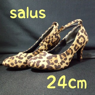 salus - salus ヒョウ柄 パンプス ハイヒール
