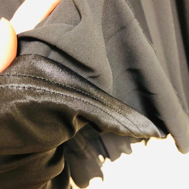 mysty woman(ミスティウーマン)のプリーツスカート 黒 ミスティウーマン レディースのスカート(ロングスカート)の商品写真