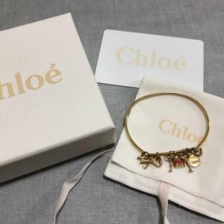 クロエ(Chloe)のChloe チャーム付きブレスレット バングル(ブレスレット/バングル)