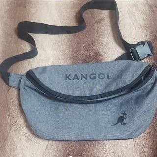 カンゴール(KANGOL)の値下げ!KANGOL ボディーバッグ ウエストポーチ(ボディバッグ/ウエストポーチ)