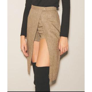 エゴイスト(EGOIST)のEGOIST ラップミディスカート(ひざ丈スカート)