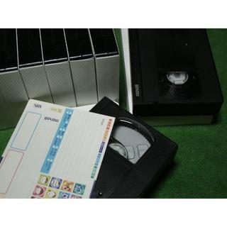 マクセル(maxell)の【中古・再録画用】maxell マクセル VHSビデオテープ10本セット①(その他)