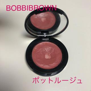 ボビイブラウン(BOBBI BROWN)のBOBBI BROWN ポットルージュ 6 パウダーピンク(チーク)