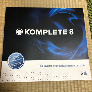 Native Instruments KOMPLETE 8(ソフトウェア音源)