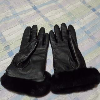 アグ(UGG)のレザーグローブ(手袋)