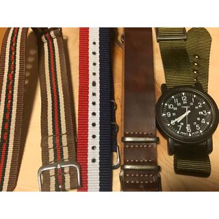 タイメックス(TIMEX)の値下げ TIMEX タイメックス 時計&予備ベルト3本セット(腕時計(アナログ))