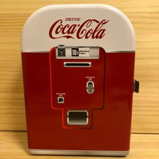 コカコーラ(コカ・コーラ)のコカコーラ ブリキ製 ベンディングマシーン・自販機型 小物入れ(小物入れ)
