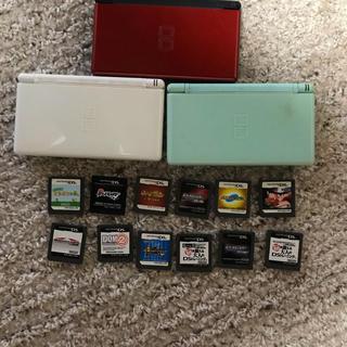 ニンテンドーDS - DS本体3個+カセット+充電器