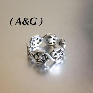 エーアンドジー(A&G)の🔴 A&Gエーアンドジー925silverリング(リング(指輪))