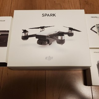 DJI SPARK スパークドローン 新品同様(ホビーラジコン)