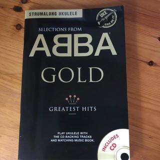 ABBA GOLD  CD付きウクレレ楽譜(2/16までの出品)(その他)