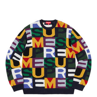 Supreme - Big Letters Sweater