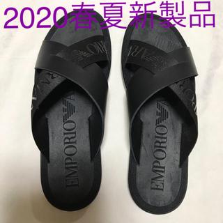 エンポリオアルマーニ(Emporio Armani)の洗練されたデザイン スライドサンダル 2020春夏新製品(サンダル)