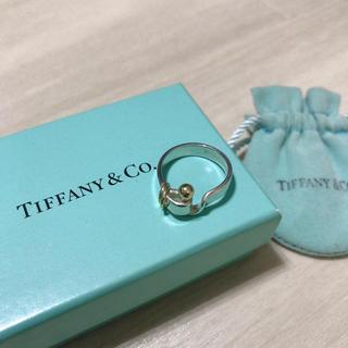 ティファニー(Tiffany & Co.)のレア!!【ティファニー フックアンドアイ リング】(リング(指輪))