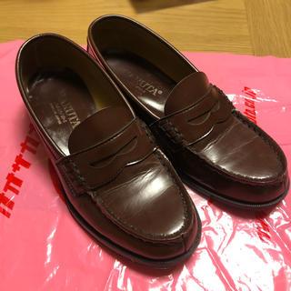 ハルタ(HARUTA)のHARUTA ローファー ブラウン 23.5(ローファー/革靴)