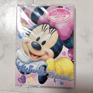ミニーマウス(ミニーマウス)の新品 レア! ミニー BOOK型 ボリュームメモ(ノート/メモ帳/ふせん)