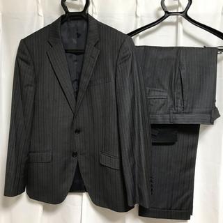 ユナイテッドアローズ(UNITED ARROWS)のビジネススーツ セットアップ サイズA4 チャコールグレー ストライプ(セットアップ)