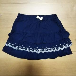 エニィファム(anyFAM)のスカート 紺色 ネイビー フリル(スカート)