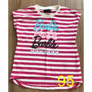 バービー(Barbie)のほぼ未使用 バービーTシャツ 95cm (Tシャツ/カットソー)