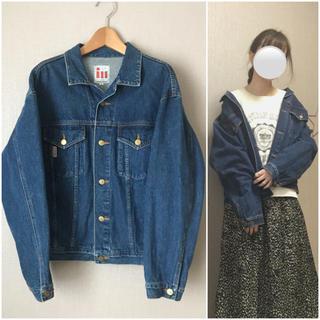 パナマボーイ(PANAMA BOY)の日本製vintage古着 デニムジャケット 春アウター✿(Gジャン/デニムジャケット)