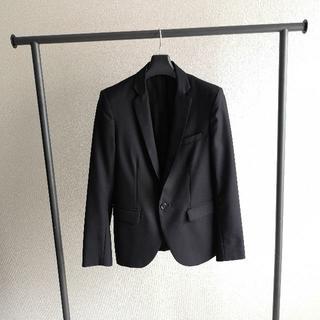 ステュディオス(STUDIOUS)のstudious テーラードジャケット ブラック(テーラードジャケット)