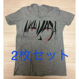 ユニクロ(UNIQLO)のUNIQLO Tシャツ 2枚セット(Tシャツ/カットソー(半袖/袖なし))