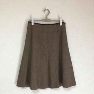 キース(KEITH)の♪キース大きいサイズ 大人可愛いツイードフレアスカート KEITH♪(ひざ丈スカート)