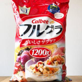 カルビー - フルーツグラノーラ  フルグラ 1.2kg!