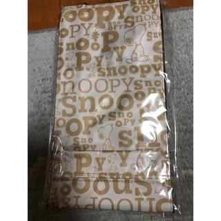 スヌーピー(SNOOPY)の袋ストッカー スヌーピー  タオル(収納/キッチン雑貨)