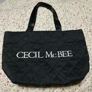 セシルマクビー(CECIL McBEE)のセシルマクビー キルティングトート ムック本付録(トートバッグ)