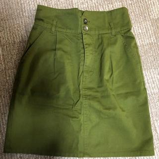 エージープラス(a.g.plus)のa.g.plus 台形スカート(ひざ丈スカート)