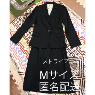 エヌナチュラルビューティーベーシック(N.Natural beauty basic)のナチュラルビューティーベーシック スーツ2点セット ネイビー ストライプ(スーツ)