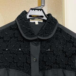 ナラカミーチェ(NARACAMICIE)のナラカミーチェ クローバーレースラウンドカラーシャツ(シャツ/ブラウス(長袖/七分))