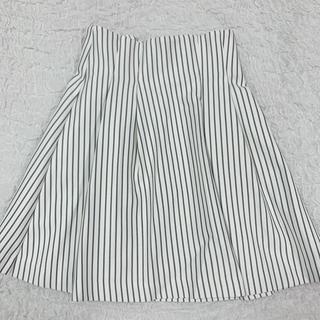 ティティアンドコー(titty&co)の新品♡tity&co ボンディングタックスカート(ひざ丈スカート)