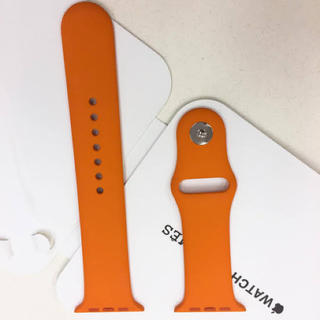 エルメス(Hermes)のApple Watch 4 Hermès スポーツバンド 44mm(ラバーベルト)