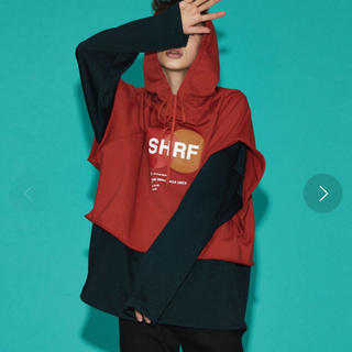 シャリーフ(SHAREEF)のshareef  SHORT PARKA PULL OVER(パーカー)